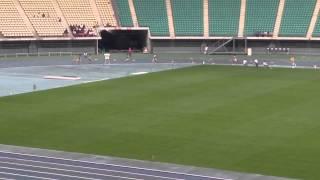 男子4X400mR 準決勝 1組 6月14日 1着 7レーン 3:16.55 諫早 / 長 崎 [19] ...