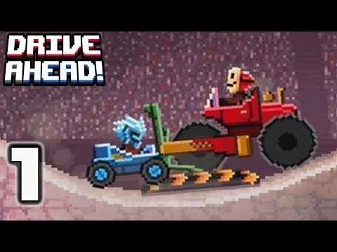 Drive Ahead - Gameplay Walkthrough part 1 - The Originals all levels (iOS, Android)
