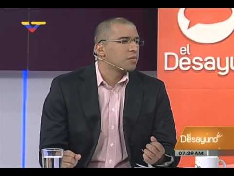 Miguel Pérez Abad, presidente FedeIndustria, en programa El Desayuno de VTV