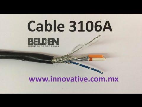 Cable 3106A Belden