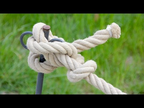 5 Awesome Rope knots Life Hacks You should know. 밧줄 매�