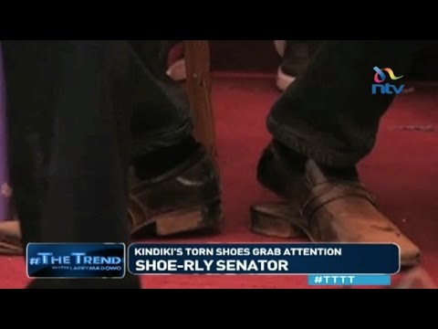 #TTTT: Shoe- rly Senator: Kindiki's torn shoes grab attentio