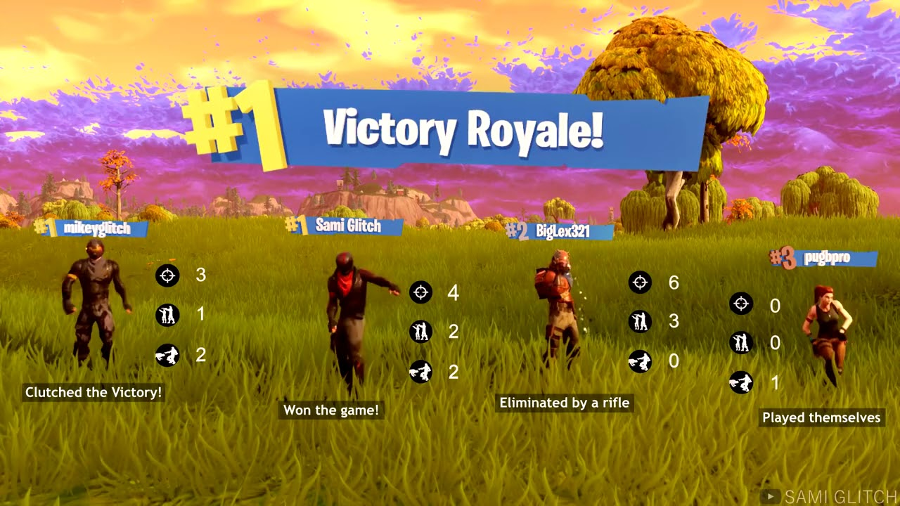48cebeff71372 New Fortnite Victory Royale Screen - YouTube