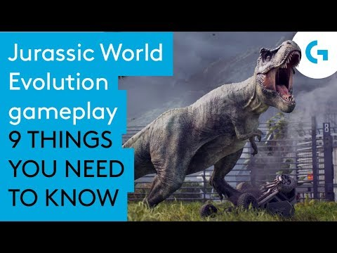 Jurassic World Evolution gameplay - 9 things you need to know