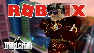 Becoming a Hero is even bullied by criminals | Mad City | ROBLOX Indonesia #3
