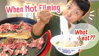 Food I Eat When NOT Filming | KOREAN BBQ & Story Time