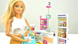 Куклы Барби - в магазине. Видео для девочек с куклами
