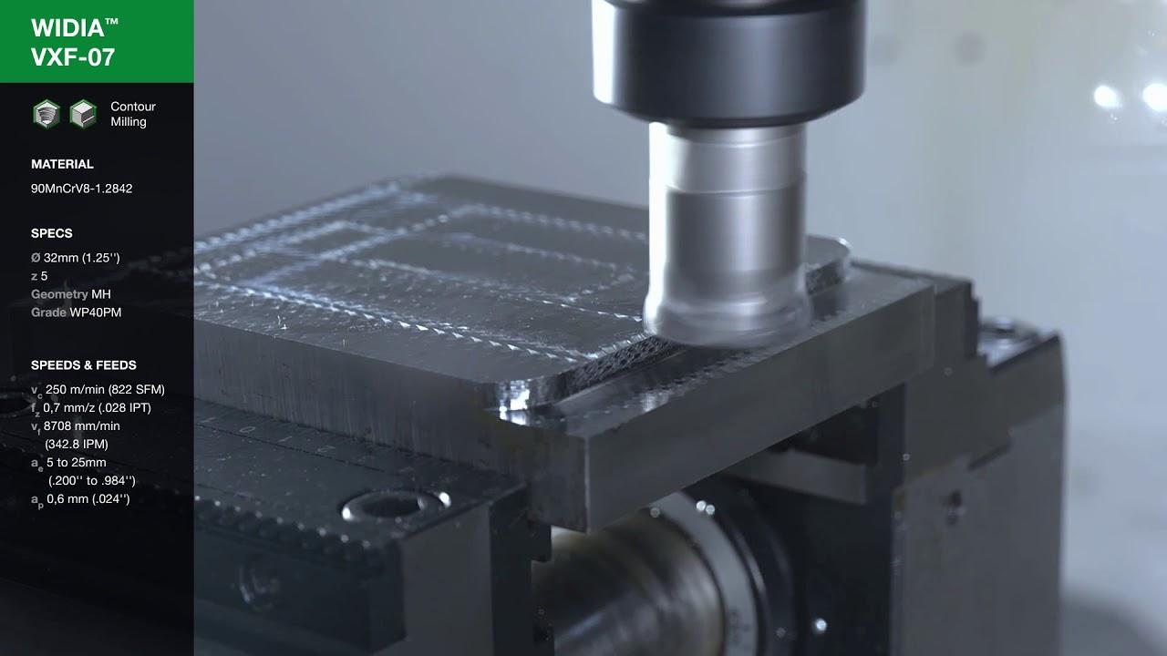 3FL JIS 16 mm Cutting Diameter AlTiN Coating Straight Shank 16 mm Shank Diameter WIDIA Hanita 450316006T 4503 JJ HP Finishing End Mill RH Cut Carbide