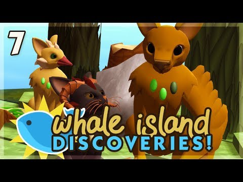 The One-Winged Wonder! | Niche Let's Play • Whale Island Discoveries - Episode 7