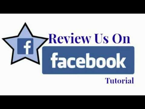 Review Us on Facebook Tutorial
