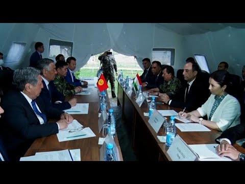 Киргизия и Таджикистан выводят войска из зоны конфликта…