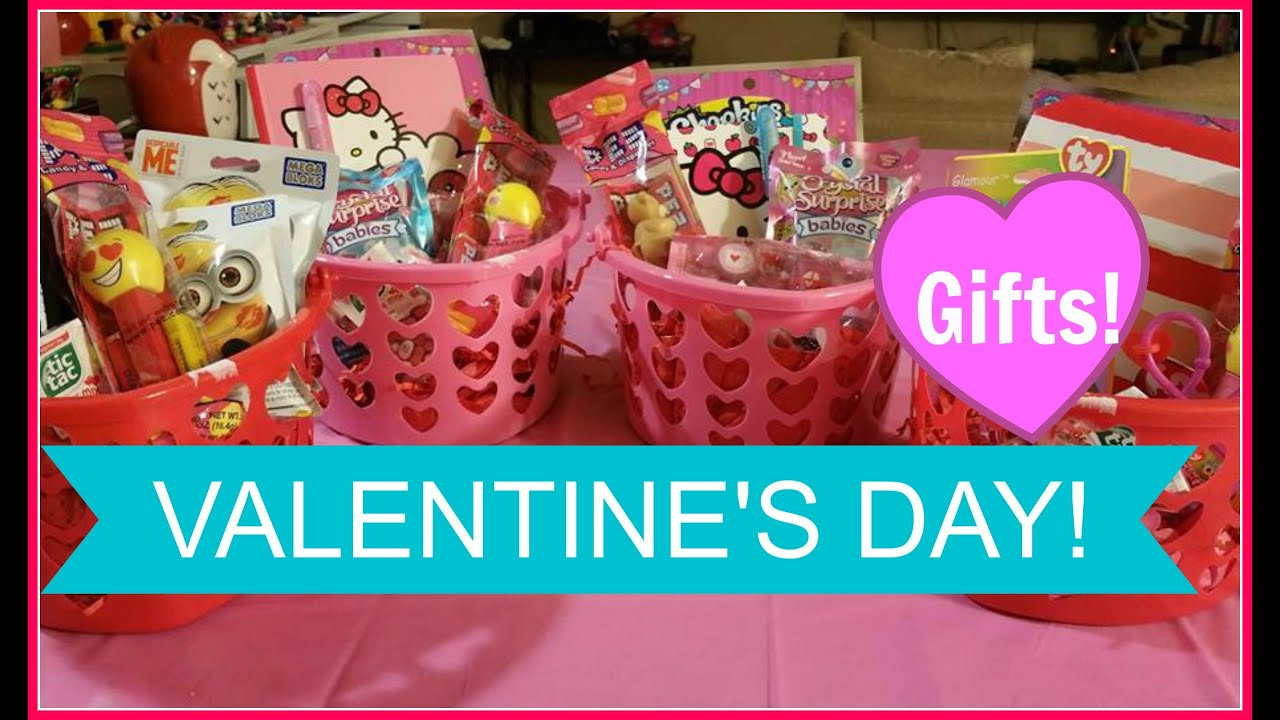 Valentine S Day Basket For Kids Valentine S Gift Ideas For Kids