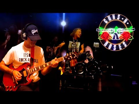 Live and Let Die Subtitulada Guns N´ Roses & RollingBilbao gitar cover 2017