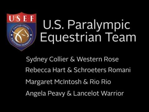 The  US Paralympic Equestrian Team