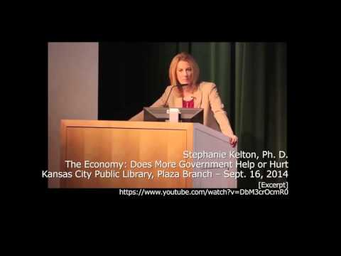 (2014) Stephanie Kelton - The role of Government