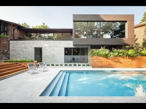 Prince philip residence modern house design overlooking - Modern house with pool ...
