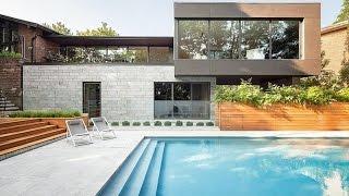 Prince Philip Residence - Modern House Design Overlooking Beautiful Pool