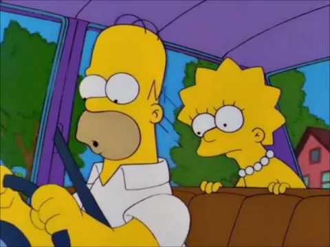 Homer Puts Tape Over Check Engine Light Youtube
