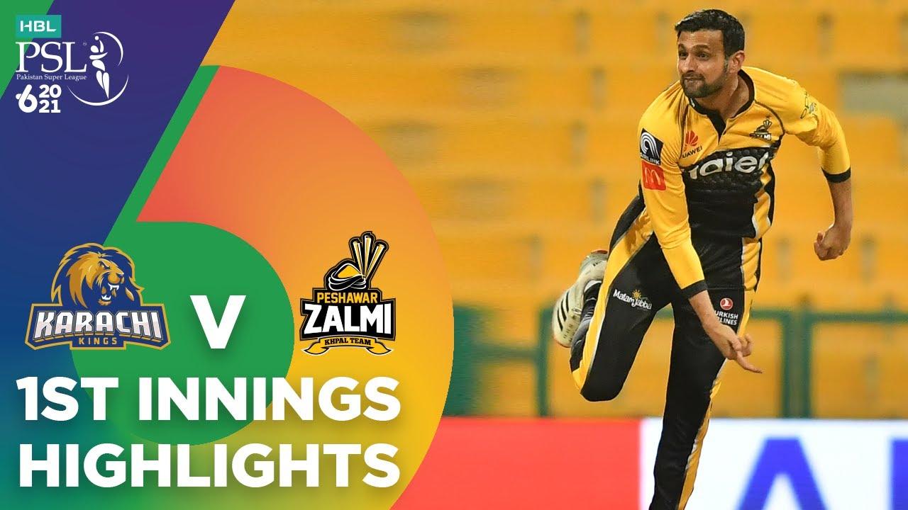 Download 1st Innings Highlights | Karachi Kings vs Peshawar Zalmi | Match 24 | HBL PSL 6 | MG2T