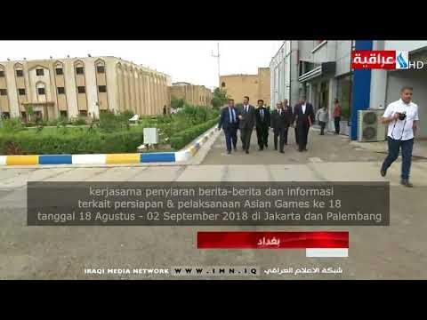Kunjungan Dubes RI Baghdad ke kantor IMN (Iraqi Media Network)