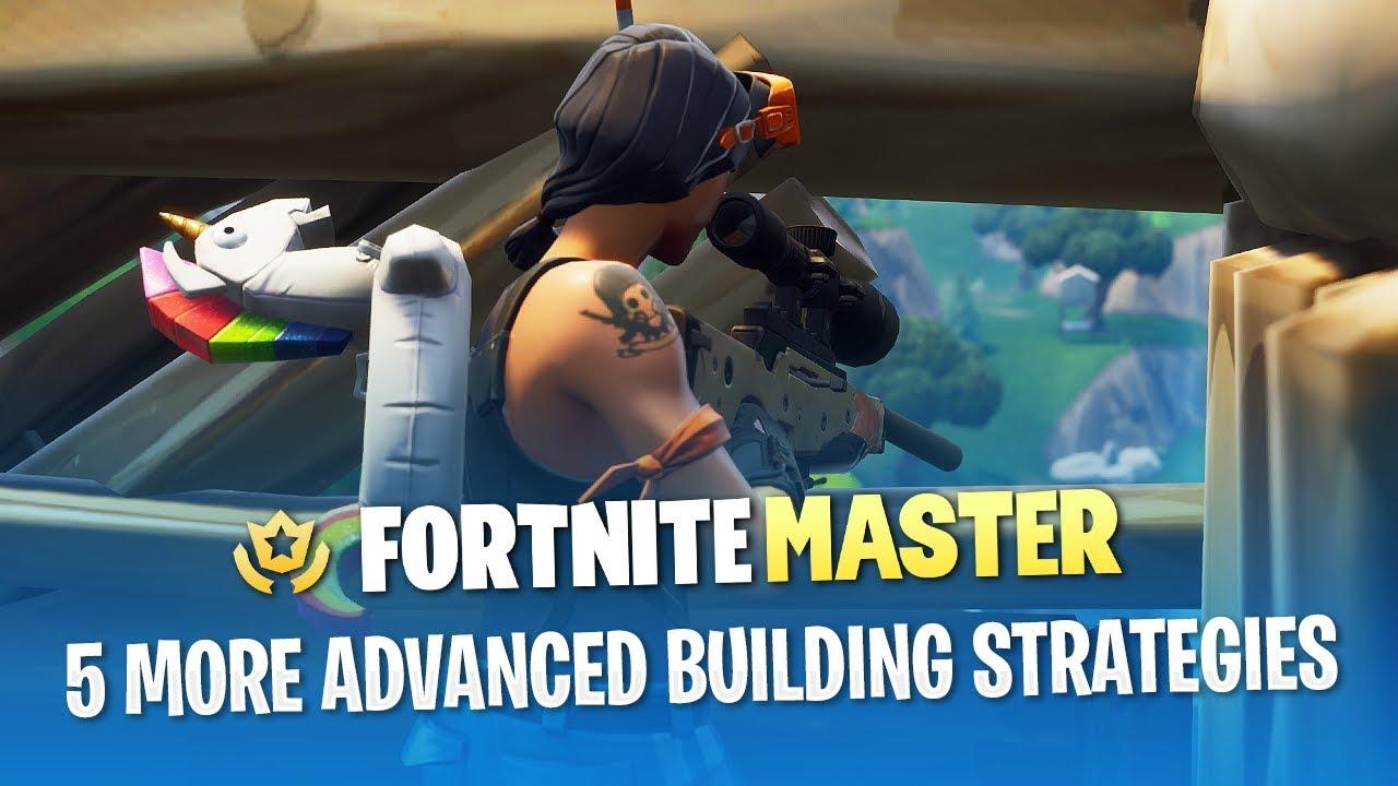 5 more advanced building strategies fortnite battle royale - fortnite building strategy
