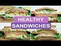4 Healthy Sandwich Recipes for Weight Loss   HEALTHY LUNCH IDEAS
