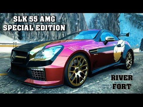 Asphalt 8 slk 55 amg special edition river fort 1 02 for Mercedes benz slk 55 amg special edition