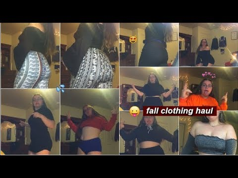 HUGE FALL CLOTHING TRY-ON HAUL | baddie on a budget