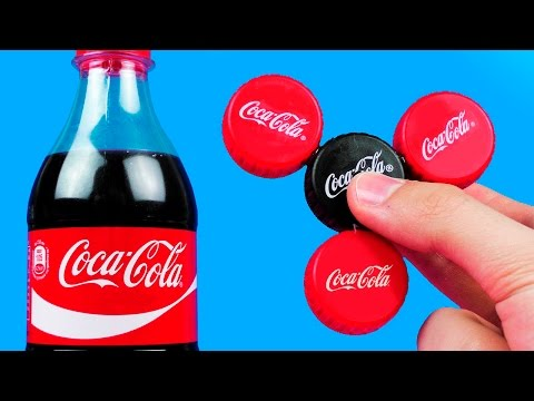 Thumbnail: How To Make A Coca-Cola Fidget Spinner