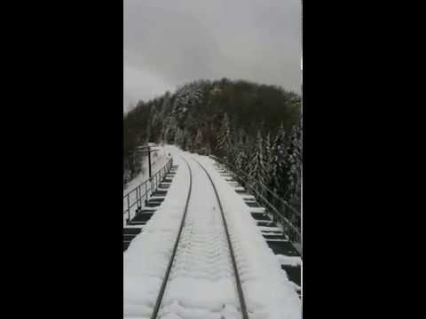 Pont de la Rivière du Milieu -- VIA Rail #603 Montréal to Senneterre