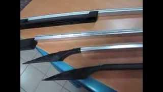 видео Рейлинги на Ниссан Кашкай: установка продольных на крышу
