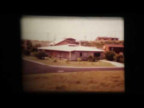 Vintage 1970s Perth Australia Cine Film with Koi Scenic views home movie