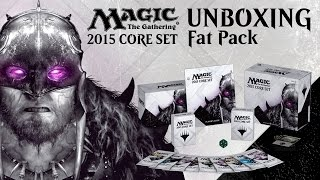 Unboxing: M15 Fat Pack With Brad Nelson [magic: The Gathering]