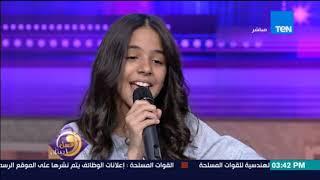 عسل أبيض | لقاء خاص مع الطفلة/ نور عثمان والمايسترو/ محمد عثمان