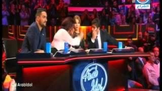 اغنية حازم شريف ومنال موسى وهيثم خلايلة في حلقة النتائج