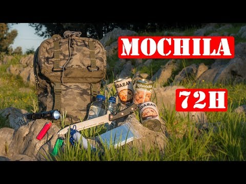 Mochila De Supervivencia Para 72 Horas