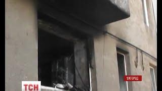 видео В Ужгороді горіла багатоповерхівка