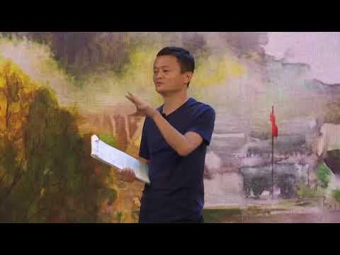 马云乡村教育午餐会演讲全程,回应乡村寄宿学校争议:我这人从不怕骂,19年来怕过谁?