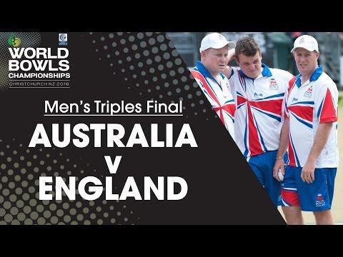 Men's Triples Final | Australia V England