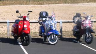 eggs to the mill, Mansfield roadrunners scooter club  2016