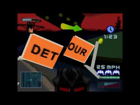 Batman: Gotham City Racer (PS1): REVOKE BATMAN'S LICENSE! [Playstation Project]