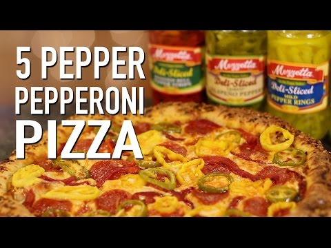 Food Review: 5 Pepper Pepperoni Pizza Pie