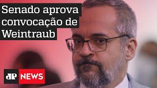 Senado Convoca Weintraub Para Explicar Defesa De 'prisão' De Ministros Do Stf