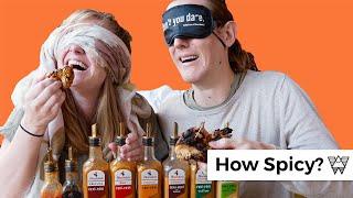 Americans vs Nandos Spicy BLIND tASte test in Bristol England