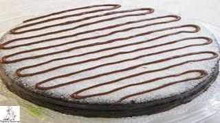Легкие торты рецепты с фото.Торт Зебра