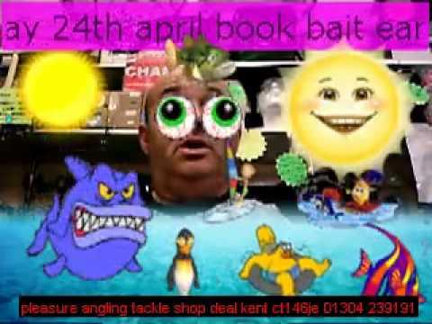 herring fillets @pleasure angling deal kent bait & tackle shop 24th april
