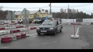 Автошкола Автопилот Мытищи  - Параллельная парковка