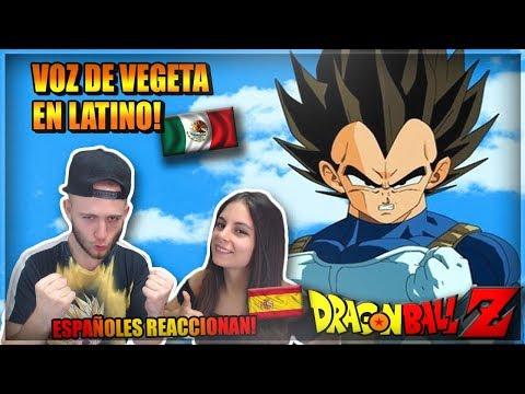 🇪🇦ESPAÑOLES REACCIONAN A LA VOZ De VEGETA En LATINO! | Rene Garcia DOBLAJE LATINO DRAGON BALL