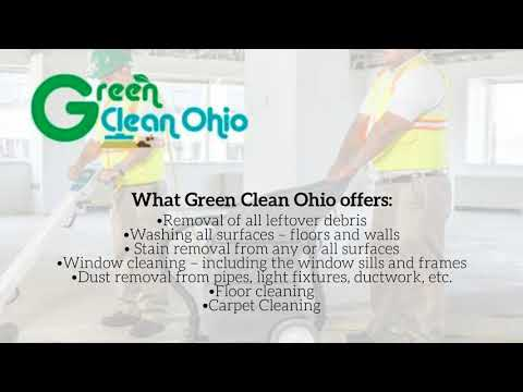 Green Clean Ohio Construction Cleaning