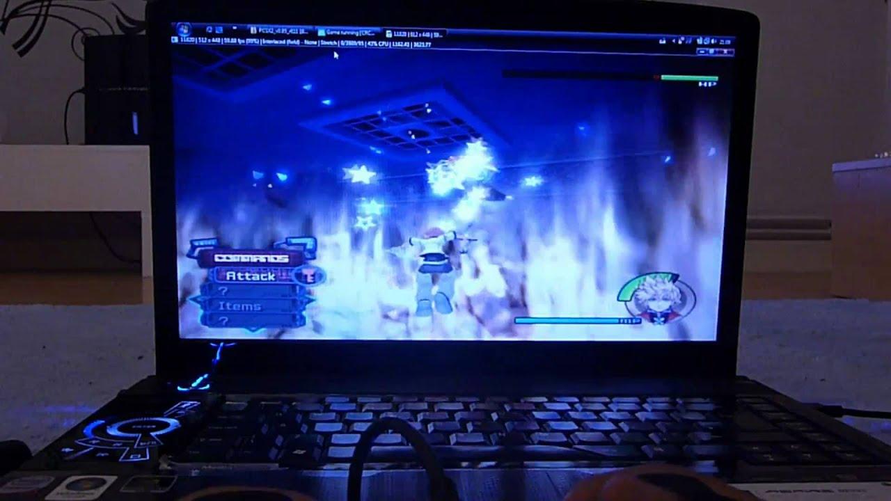 PCSX2 on laptop full speed HD